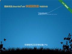 雨林木风 Ghost Win7 64位 快速装机版 v2019.03