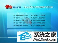番茄花园 Ghost Win7 64位纯净版 v2019.06